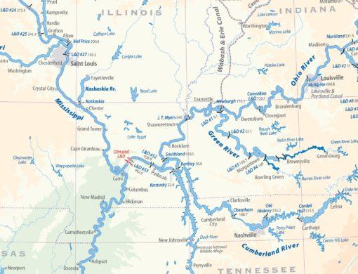 Waterways of North America - extract